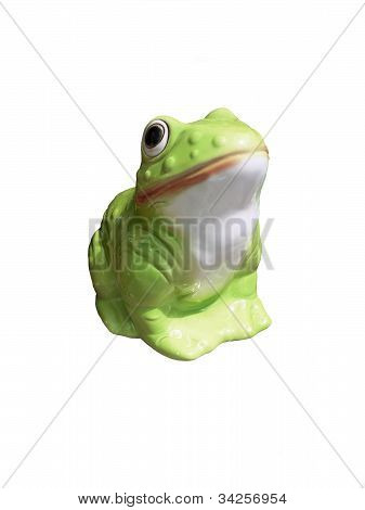 Plaster frog