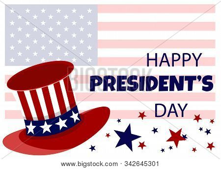 President's Day, Presidents Day, Presidents' Day background, President's Day banners, President's Day flyer, President's Day design, President's Day flag on background, Copy space text area, vector illustration.