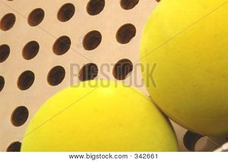 platform paddle balls and fiberglass paddle poster
