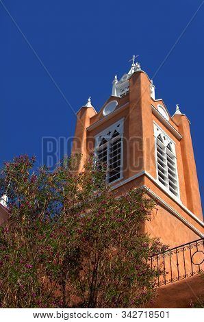 San Felipe De Neri Church Is Located On The Square In Old Town, Albuquerque, New Mexico.  Image Show
