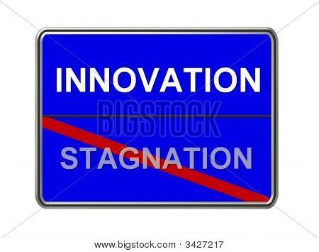 Innovation Stagnation Blue
