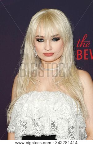 LOS ANGELES - DEC 13:  Kim Petras at the 9th Annual Streamy Awards at the Beverly Hilton Hotel on December 13, 2017 in Beverly Hills, CA