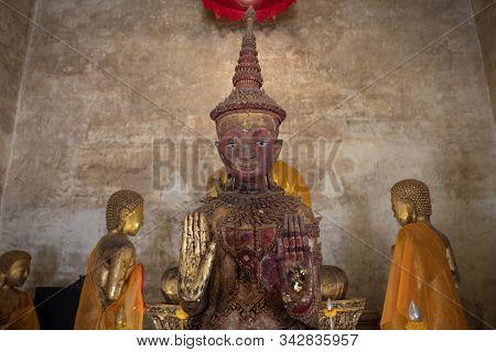 The Buddha Statue In Chanthaburi Province Of Thailand