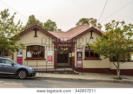 Cobargo, Nsw - December 20, 2019: Facade Of The Post Office Building In The Main Street Of Cobargo,