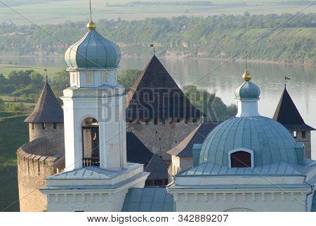 Khotyn Fortress And Church Of Alexander Nevsky