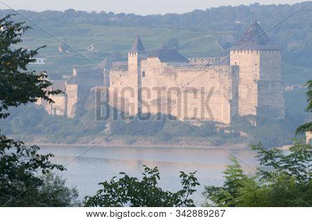 Khotyn Fortress From Afar