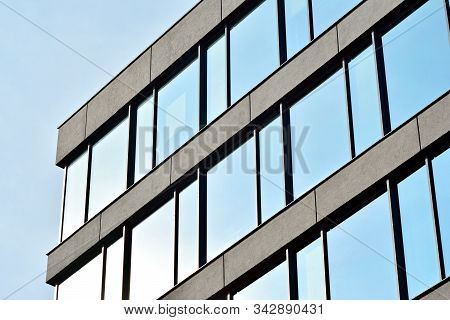 Office Building. Business Building. Modern Building. Exterior Of Building.
