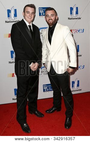 NEW YORK - SEPTEMBER 27: Ty Dillon (L) and Austin Dillon attend the 2016 NASCAR Foundation Honors Gala at Marriott Marquis on September 27, 2016 in New York City.