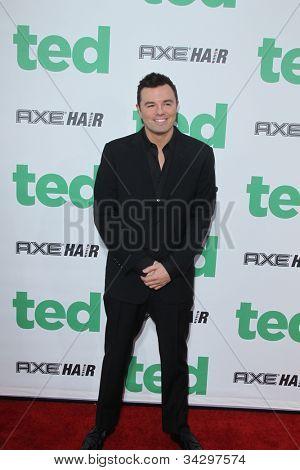 LOS ANGELES - JUN 21:  Seth MacFarlane arrives at the
