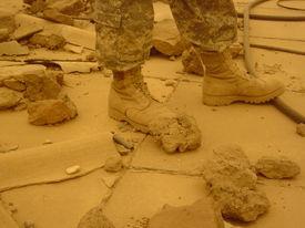 Soldier in Iraq