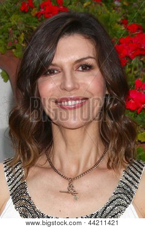 """LOS ANGELES - APR 4:  Finola Hughes attends the gala fundraiser for the romantic comedy, """"The Bet"""" at the Bacara Resort on April 4, 2013 in Santa Barbara, CA"""