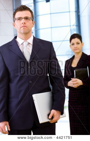 Businesspeople Outdoor