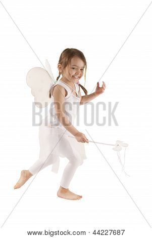 Girl Playing Fairy