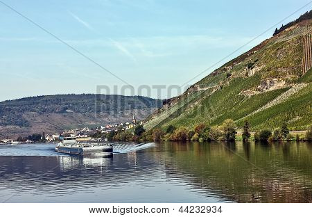 The River Moselle, Germany