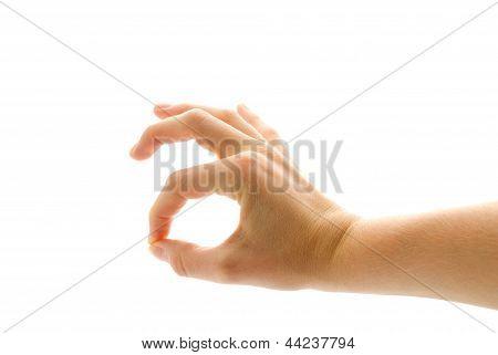 Hands Showing Ok
