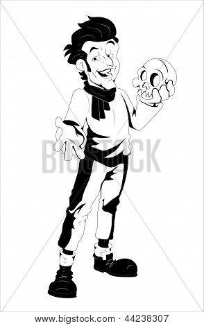 Comic Style Retro Magic Speller