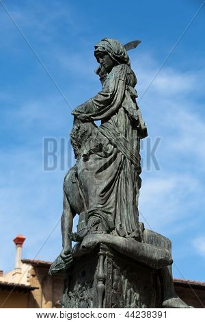 Florence - The statue of Judith and Holofernes