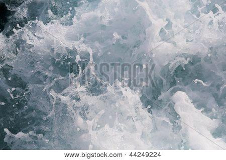 Churning Sea Water