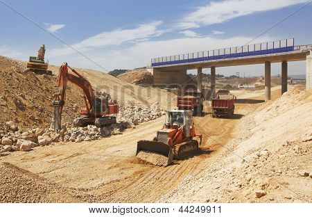 High Speed Line Under Construction
