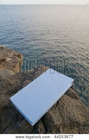 Book and the Atlantic Ocean