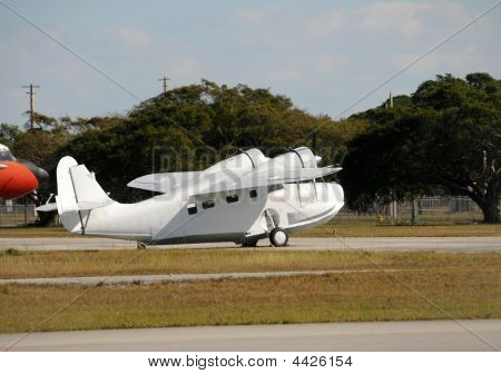 Old Seaplane