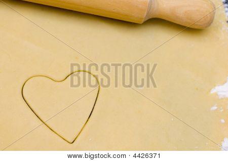 Heart On Dough