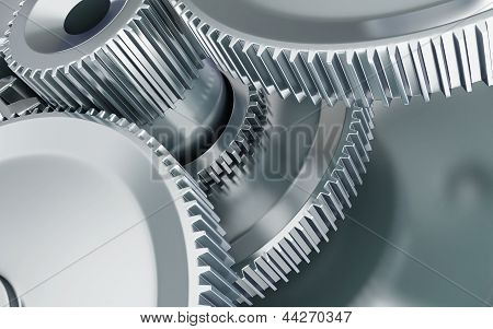 Machine Gear 3D Illustrations