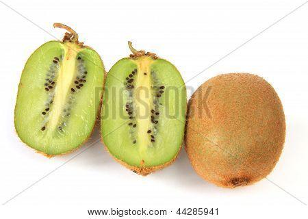 Kiwi fruits (Actinidia deliciosa)