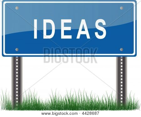 Ideas Signpost