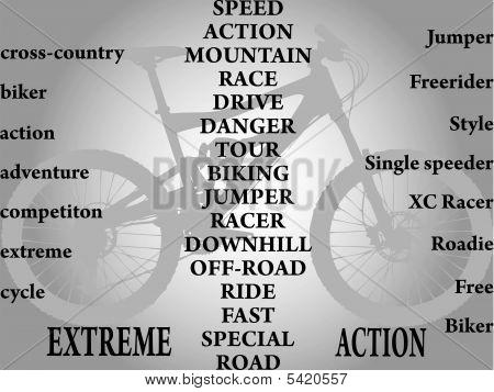 Palabras para bicicleta