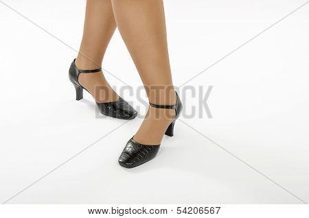 Woman Crocodile Skin Footgear