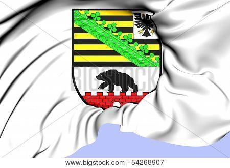Saxony-anhalt Coat Of Arms, Germany.