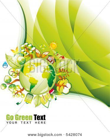 Green Environmen Background