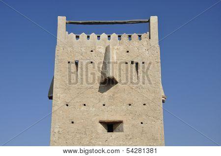 Ancient tower in Dubai.