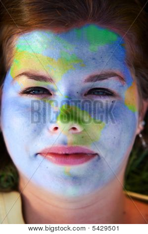 Face Paint - World