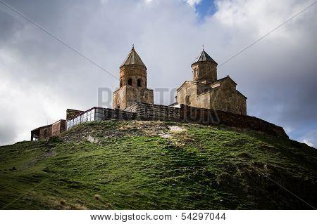 The Gergeti Trinity Church