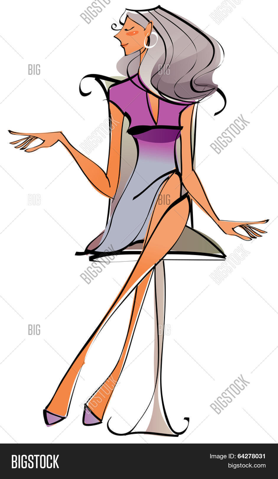 Sexy Career Woman Vector Photo Free Trial Bigstock