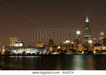 Chicago Cityscape Downtown Lakeshore