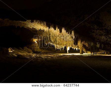 Crystal Cave Stalactites, Yanchep National Park, Western Australia