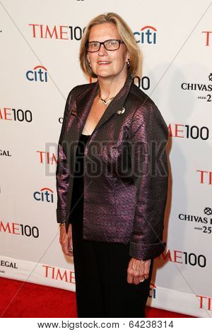 NEW YORK-APR 29: Geologist Kathryn Sullivan attends the Time 100 Gala for the Most Influential People at Frederick P. Rose Hall at Lincoln Center on April 29, 2014 in New York City.