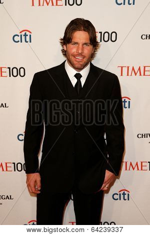 NEW YORK-APR 29: NHL player Mike Fisher attends the Time 100 Gala for the Most Influential People in the World at Frederick P. Rose Hall at Lincoln Center on April 29, 2014 in New York City.