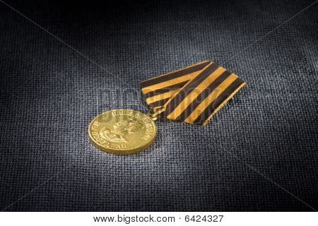 """Medal """"for Victory Over Germany In The Great Patriotic War Of 1941-1945."""""""