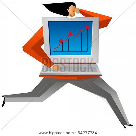 stockmarket woman