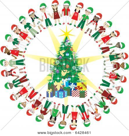 32 Kids Love Christmas World