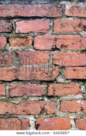 Vertical bricks background