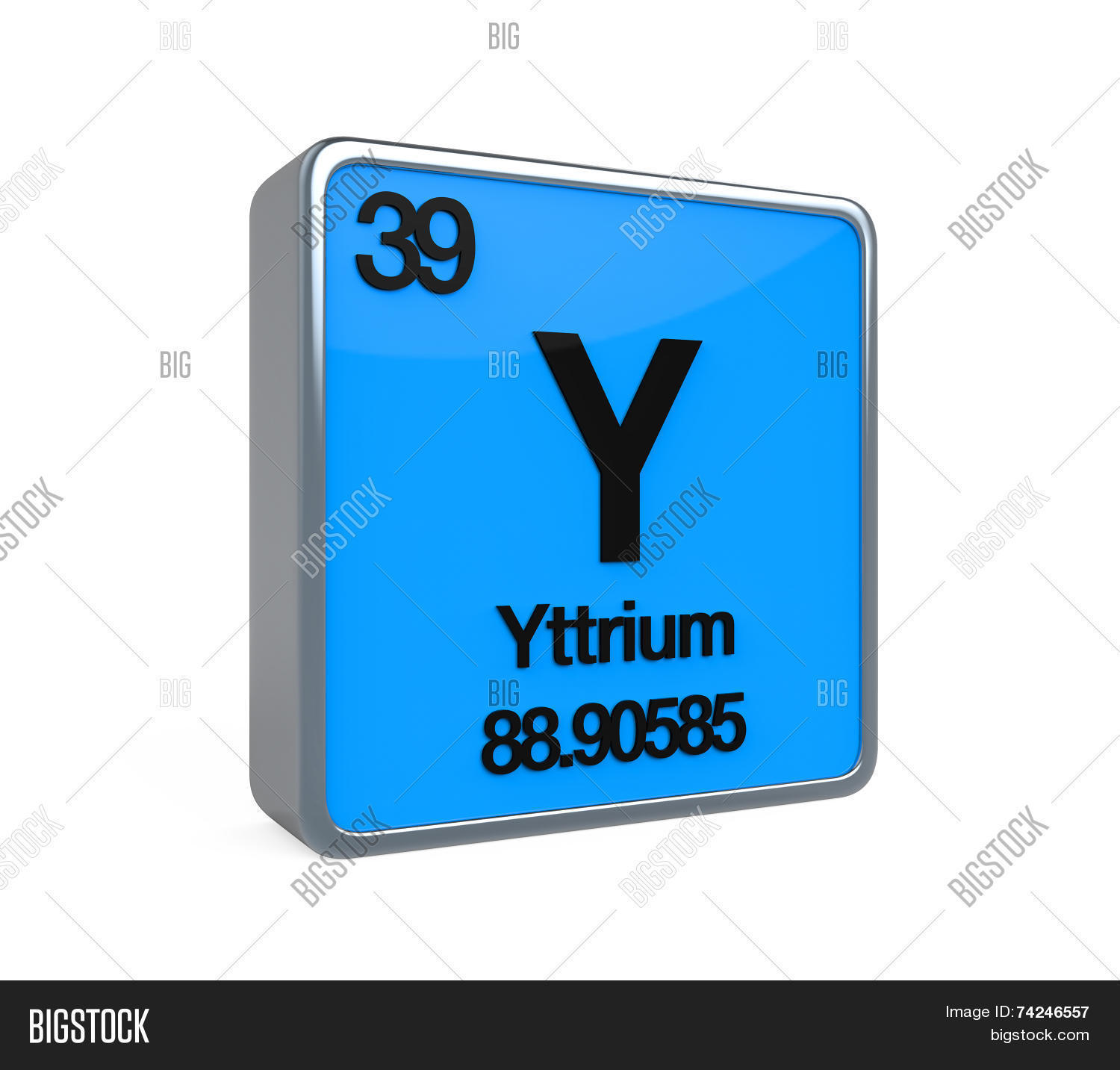 Yttrium element periodic table image photo bigstock yttrium element periodic table urtaz Images