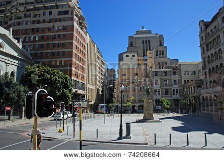 Streets In Cape Town, South Africa