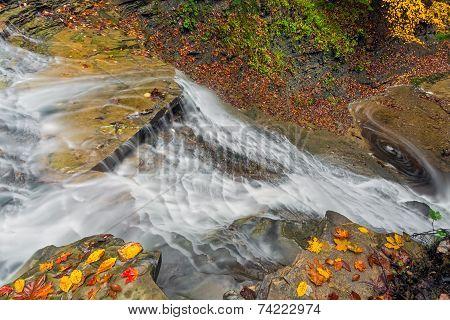 Looking Down Buttermilk Falls