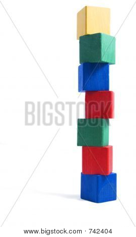 tower of blocks,