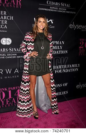 LOS ANGELES - OCT 18:  Valentina Ferrer at the Pink Party 2014 at Hanger 8 on October 18, 2014 in Santa Monica, CA